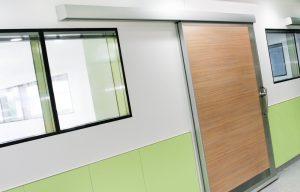 Trockenbau Fertigfenster mit integriertem Sichtschutz